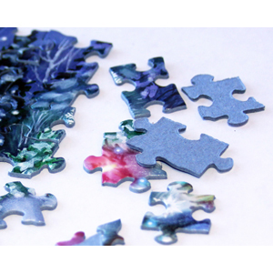Thick Jigsaw Puzzle Pieces
