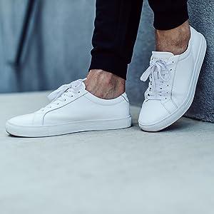 New Republic Men's Kurt Leather Sneaker