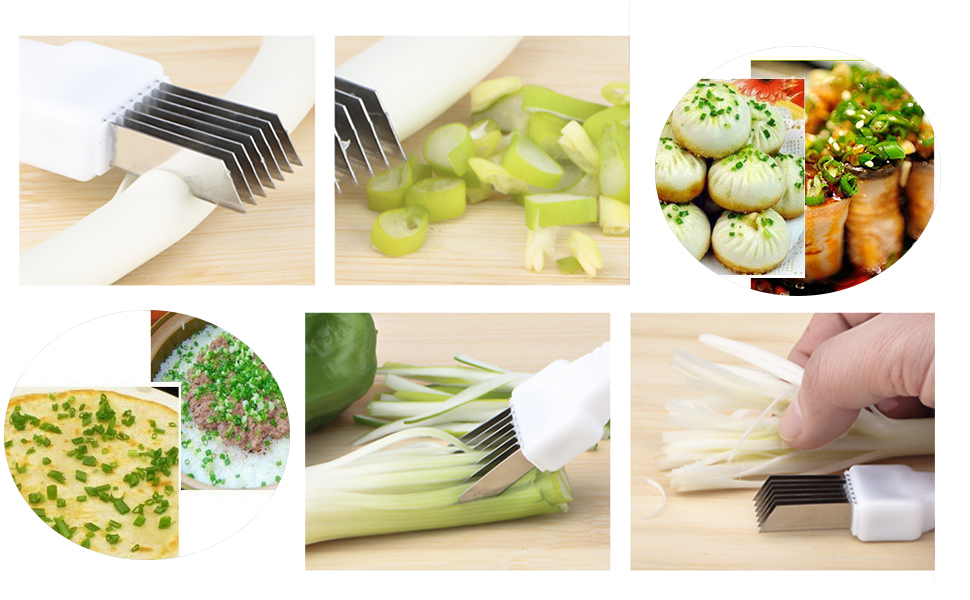 Slice Cutlery Simple /& Functional Kitchen Tool Vegetable Scallion Cutter Shred