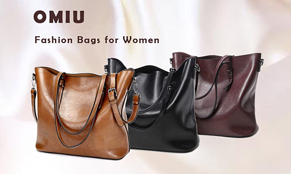 38979014a2b8 OMIU fashion Women handbags. This is OMIU fashion women handbag. This is a  fashion stylish handbag shoulder bag purses tote ...