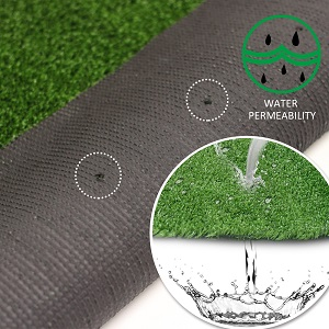 Synthetic lawn roll 2 x 18 MT 4 Stakes Included Turf Garden 7mm