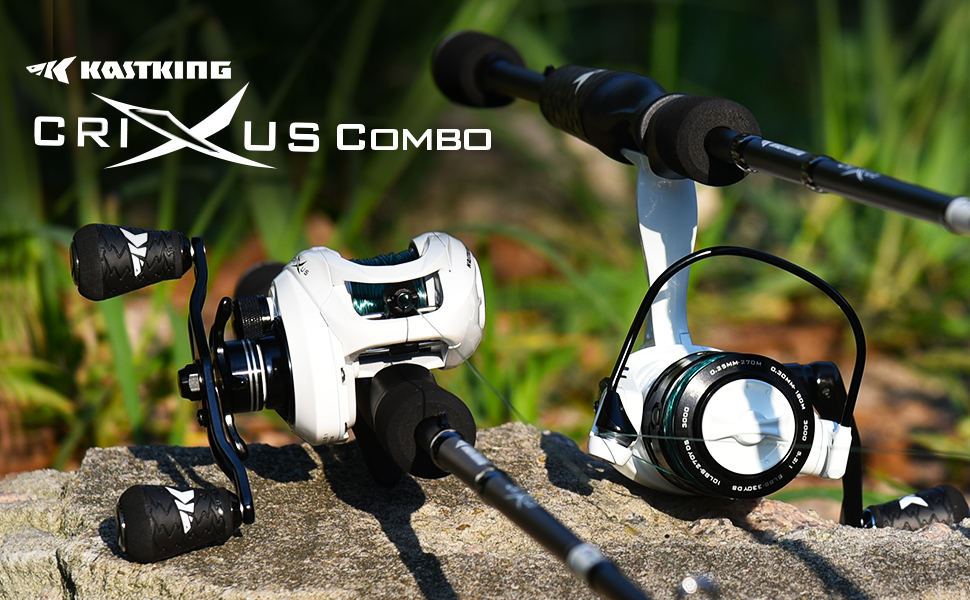 fishing rod and reel combo