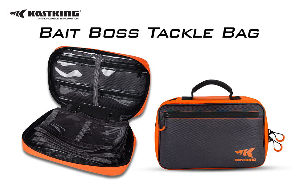 aedf5b7bac Designed with the avid angler in mind, the Bait Boss utility binder offers  the ultimate in flexibly to organize your soft bait collection for quick  access.