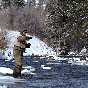 Fly Fishing in Winter