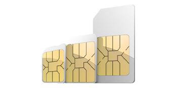 Triple Cut SIM Card
