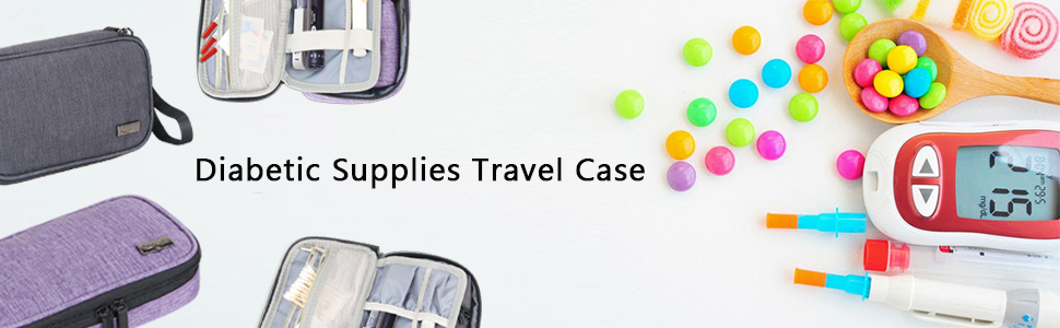 diabetic supplies case