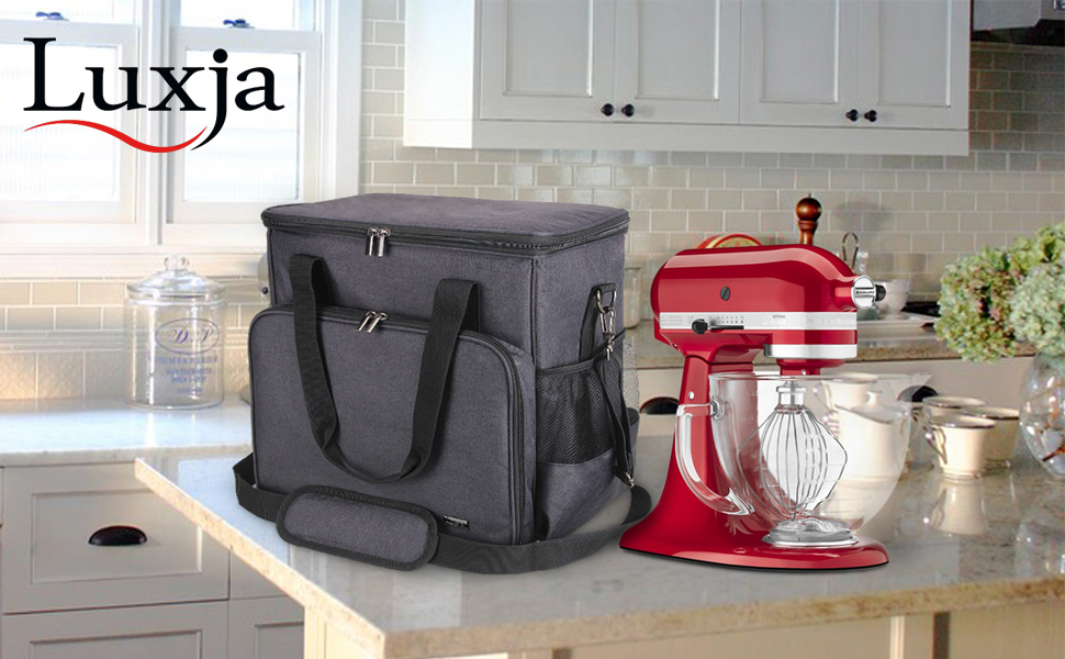 Amazon Com Luxja Portable Storage Bag For Kitchenaid