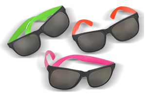 Amazon.com: 24 Pack 80's Style Neon Party Sunglasses - Fun