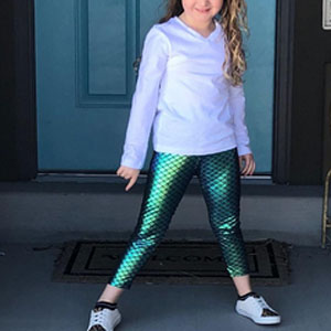 Colette Lilly Stretchy Leggings Pants Bottom Toddler Little Big Girls Leggings