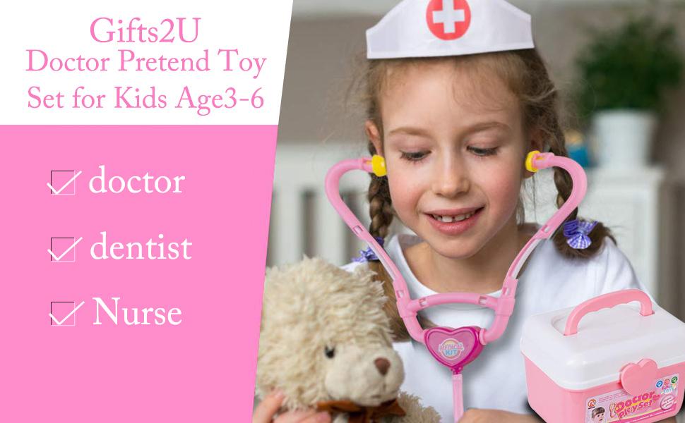Amazon.com: Gifts2U Kit de juguetes para médicos, juguetes ...