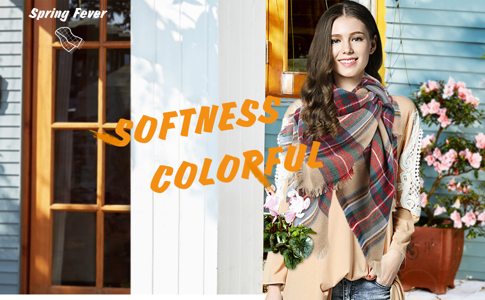 c99bc55d56 Large Tartan Fashion Gift Scarf · Casual Loose T-Shirt Dress · Soft  Lightweight Plaid Elegant Scarf · Casual Loose T-Shirt Dress · Colorful  Tartan Checked ...