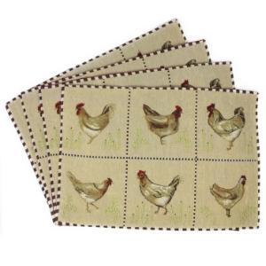 chicken placemat