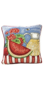 fruity pillow cover
