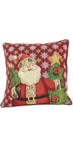 Santa clause pillow