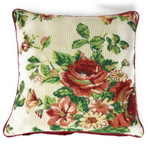 Red Rose Pillow Cover