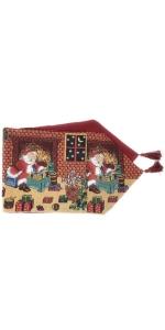 Santa Claus Table Runner