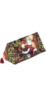 Santa Table Runner