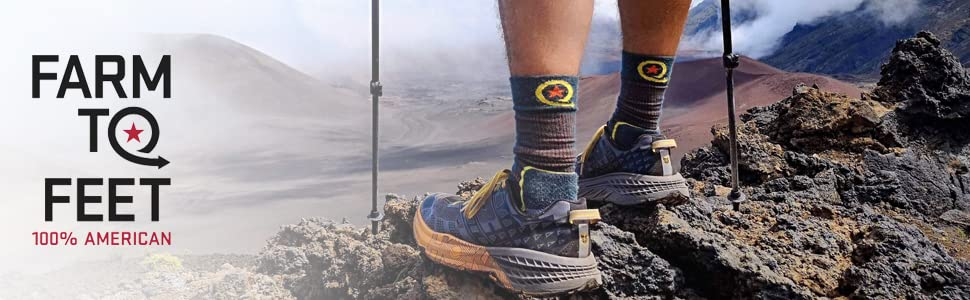 Farm to Feet Mens Damascus Socks
