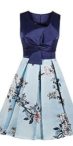 5e4b2968f4f Polka Dots Ruffle Strap Skater Dress · Knot Floral Satin Vintage Dress ...