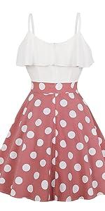 2d7908e6598 vintage dress swing dress retro dress skater dress ruffle dress flounce dress  strap dress petite ...