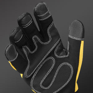 Extra Grip Synthetic Leather Palm with Big Patch