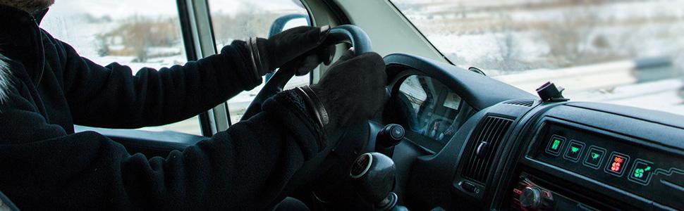 driving gloves cold weather winter men women