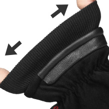 elastic cuff -  keep hands from wind and snow