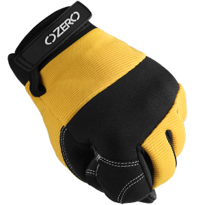 Padded knuckles protection provide anti-impact protection.