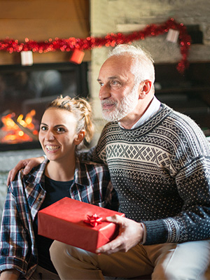 Gifts for dad grandfather in windy and rainy cold weather