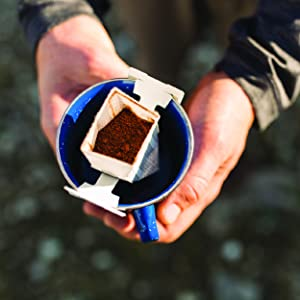 kuju coffee, portable pour over, instant coffee, ethically sourced, specialty-grade