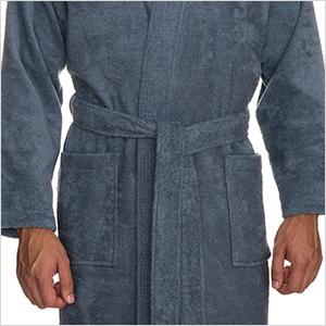 Amazon.com: TowelSelections - Albornoz de rizo de algodón ...