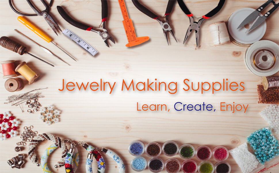 jewelry making requires supplies such as pliers and beads