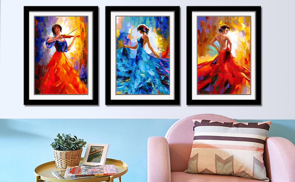 786c55caf12 Home   Kitchen CANVASZON Sunrise Art-Canvas Prints Original Abstract  Painting on Canvas Modern Abstract Wall Art for Living Room Ready to Hang  HomeAndDecor