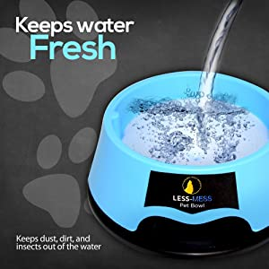 Keeps Water fresh