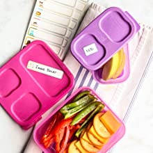lunch containers waterproof labels baby bottle dishwasher safe name kid kids sticker