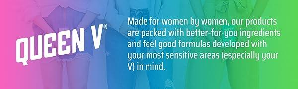 queen v feminine health women self care wash spray hygiene sensitive skin clean woman cleanse body