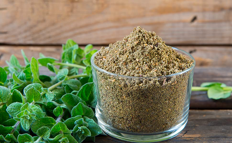 The Spice Way - Traditional Lebanese Zaatar with Hyssop (No Thyme that is  used as an hyssop