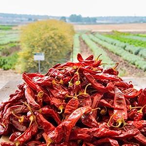 We grow spices on our farm