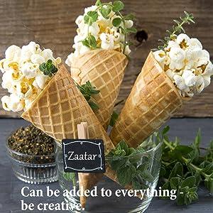 Popcorn zaatar