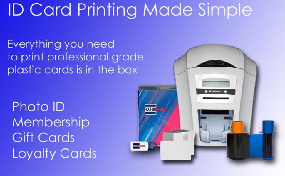 Magicard Enduro3e Single-sided Printer