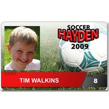 Athletic Club ID Card