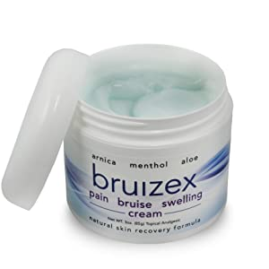 pain bruise muscle swelling relief cream ointment gel menthol arnica aloe ointment treatment bruizex