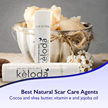 scar keloid acne dry skin moisturizer palmer cocoa butter shea butter silicone surgical burn bruizex