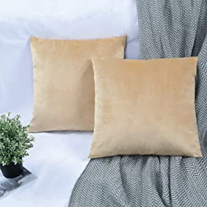 gold pillow covers