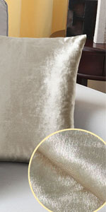 Gold Pillow Cover