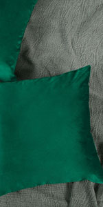Dark Green Pillow Cover Velvet