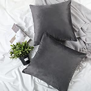 throw pillow covers charcoal