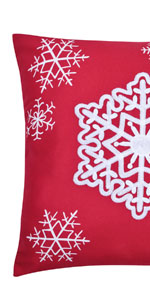 Snowflake Pillow Covers