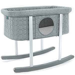A photo of our baby bassinet sleepr cradle