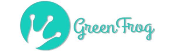 The Green Frog Logo